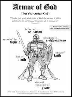 {FREE} Girl & Boy Armor of God Bible Study |