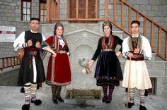 βλαχoi -vlachs of Greece Greek Costumes, Folk Costume, Macedonia, Albania, Roots, Greece, Culture, Dance, Traditional