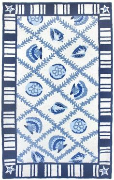 2.5' x 7.5' Seaside Shells Hand Hooked Area Throw Rug Runner Diva At Home http://www.amazon.com/dp/B00DDTO33A/ref=cm_sw_r_pi_dp_zBVPtb0QPA5TQDWS