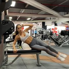 Utilize this list of the best workout clothes brands for plus-sized females, females with curves, and females who aren't very skinny. Gym Workout Videos, Gym Video, Ab Workouts, Workout Exercises, Slim Waist Workout, Hormon Yoga, Bodybuilding, Workout Bauch, Abs Workout For Women