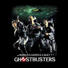 Camiseta Los Cazafantasmas (Ghostbusters). Trio