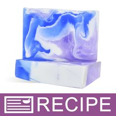 RECIPE: Blue Swirls MP Loaf Soap - Wholesale Supplies Plus