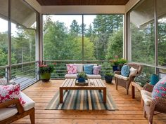 Many new homes these days are designed with the contemporary style. A contemporary styled porch is usually created using simple […] Small Dining Sets, Small Table And Chairs, Outdoor Couch, Outdoor Rugs, Outdoor Decor, Front Porch Pictures, Modern Porch, Porch Kits, Small Porches