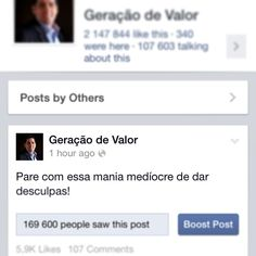 Ver esta foto do Instagram de @geracaodevalor • 1,204 curtidas
