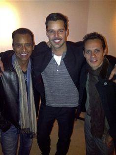 My favourite Ricky martin and his friends Jons Secada and Marc Antony ;0)