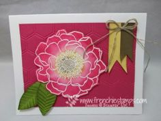Stamp & Scrap with Frenchie: Oval Punch for Leaves