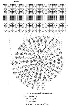 Шапочка - Her Crochet - Diy Crafts Crochet Summer Hats, Crochet Beret, Crochet Cap, Crochet Diagram, Filet Crochet, Diy Crochet, Crochet Stitches, Crochet Patterns, Bandeau Crochet