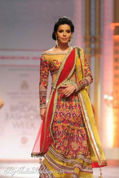 Mandira Wirk lehenga collection