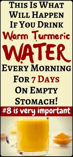 Drink warm turmeric water on an empty stomach for 7 days and amazing things will happen to your body! - health and fitness. Drink warm turmeric water on an empty stomach for 7 days and amazing things will happen to your body! - health and fitness. Turmeric Pills, Turmeric Water, Turmeric Health, Health Diet, Health And Wellness, Health Fitness, Fitness Hacks, Herbal Remedies, Health Remedies