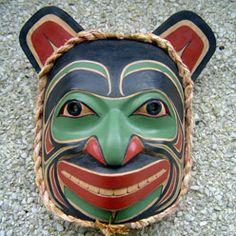Haida Grizzly Bear Mask