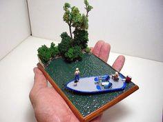 Miniature diorama