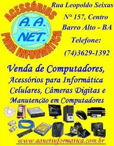 Somos uma Empresa que atua no mercado de informática há mais de 5 anos. Fundada em 30-04-2008 Na cidade de Barro Alto- BA
