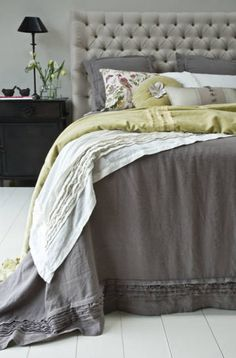 Linen Bedding - Crellini Bed Linen from ECOCHIC