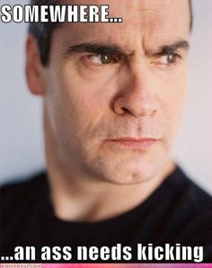 Haha--don't know who he is (?) but this is just so...scary. Don't worry, I WILL stay out of your way, Henry  lol! --Pia (Henry Rollins <3)