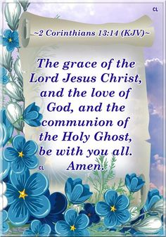 The GRACE of the LORD Jesus-Yeshua Christ-Messiah!! Bible Verses Kjv, Favorite Bible Verses, Bible Quotes, Praise The Lords, Praise And Worship, Jesus Is Coming, Morning Prayers, Jesus Is Lord, Spiritual Quotes