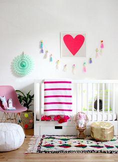 Ideas for your kids decor / Idées pour une chambre d'enfant Kids Bedroom Designs, Kids Room Design, Room Kids, Nursery Decor, Room Decor, Deer Nursery, Nursery Inspiration, Little Girl Rooms, Kids Decor