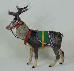 O Schwarz Clockwork Reindeer Christmas Deer, Antique Christmas, Christmas Items, Christmas Crafts, Christmas Decorations, Holiday Decorating, Decorating Ideas, Santa And His Reindeer, The Night Before Christmas