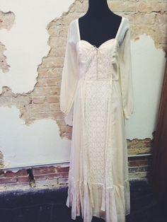 Ivory Fields Dress www.therufflifelingerie.com