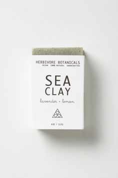 and plants blog / sea clay soap