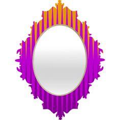 Inferno Baroque Mirror  #mirror #home #decorate #apartment #dorm #office