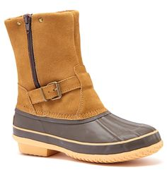 Arctic Plunge Randi Womens Fashion Faux Suede Duck Boots ** Check out this great product.