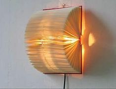 8 Playful Hacks: Old Lamp Shades Offices antique lamp shades flower.Lamp Shades Ideas Tips colorful lamp shades shabby chic. Book Lamp, Ceiling Lamp Shades, Wall Lamps, Recycled Books, Recycled Materials, Unique Lamps, Old Books, Vintage Lamps, Decoration