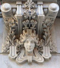 Antigua Hidroelèctrica de Catalunya  1906  Architect: Arnau Calvet i Peyronill. Barcelona.