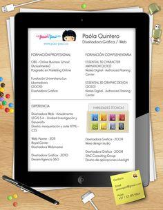 Currículum vitae Paola Quintero