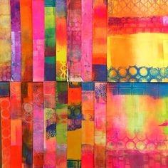 Printing with Gelli Arts®: Beautiful Image Transfers on Gelli® Printed Backgrounds + a Great Giveaway! Gelli Plate Printing, Gelli Arts, Collage Techniques, Plate Art, Fabric Painting, Art Blog, Art Tutorials, Art Lessons, Image Transfers