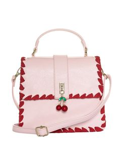 Life's too short to live without the utterly fabulous Cherry Be Mine Bag. Different Dress Styles, Birthday Rewards, Classic Skirts, 20th Birthday, Monogram Styles, Cherry Red, Red Ribbon, Retro Outfits, Cute Love