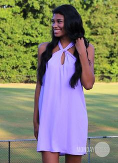 Steady Swinging Dress in Lilac