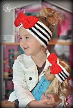 Crochet head wrap Crochet Valentines Ear warmer Crochet Big Bow Crochet Georgia Bulldogs Spirit Wear Crochet Hat Crochet girl accessory Bows by LiyaDarling on Etsy https://www.etsy.com/listing/264028407/crochet-head-wrap-crochet-valentines-ear