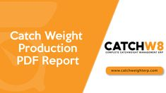 The video explains about, How to Create Catch Weight Product in ERP. ERP offering Complete solutions for catch weight management. Bill Of Materials, Investigation Discovery, Drop, Kit, Weight Management, Sales Management, Try It Free, Science And Technology, The Unit