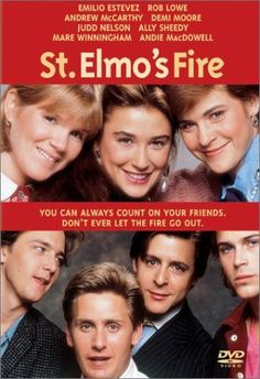 Brat Pack! St. Elmo's Fire, loved this movie