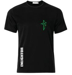 Ingress Enlightened Logo with Name T-Shirt - available in many sizes and colors