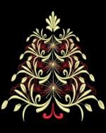 Dream Christmas Trees Embroidery Designs