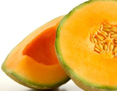 Cantaloupe is high in potassium to help keep bones strong from Joy Bauer