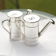 Watering Can Salt And Pepper Set