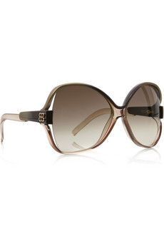 89c97795a63 Shop for Round-frame oversized acetate sunglasses by Balenciaga at ShopStyle .