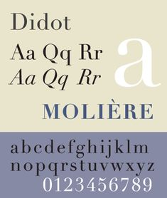 Linotype Didot von Adrian Frutiger