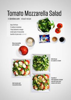 This is grand salad, it can be an all-in-one meal or it can be a tasty side dish for your main course meat dish. Depending on how you make it. Lettuce, tomatoes and balsamic vinegar will make a quick and tasty salad on their own. If you add...