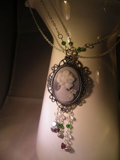 Neo Victorian Cameo Necklace