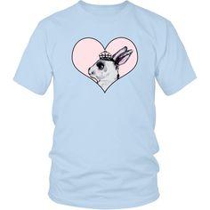 """Unisex Shirt """"Heart & Love"""" Big Pink Heart Unisex Shirt"""