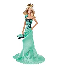 Look at this Barbie Statue of Liberty Doll on #zulily today!