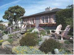 """Sea Otter Inn, Cambria, California. Great Place to stay while touring the famous """"Hearst Castle"""" Sea Otter Inn, is only 1/2 mile from Hearst Castle!@ Extra point! Sea Otter Inn looks out over the Pacific Ocean ~ Rocks there cover with hundreds of """"Sea Otters"""" :)"""