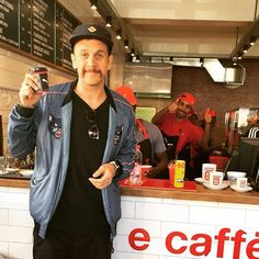 Look who we just spotted at vida Kloof! @jackparow #vidaecaffe