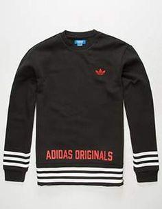 ADIDAS Street Grip Mens Sweatshirt Black