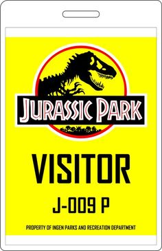 Jurassic Park Explorer likes · 1 talking about this. A replica of the tour vehicles from Jurassic Park. Jurassic Park Costume, Jurassic Park Jeep, Jurassic Park Party, Jurassic World Dinosaurs, Jurassic Park World, Birthday Party At Park, Birthday Display, 4th Birthday, Visitor Badges