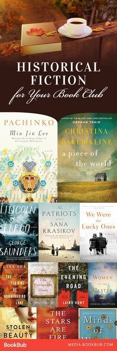 15 historical fiction books for book clubs, including great WWII novels.