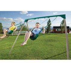 Lifetime 10 ft. Swing Set